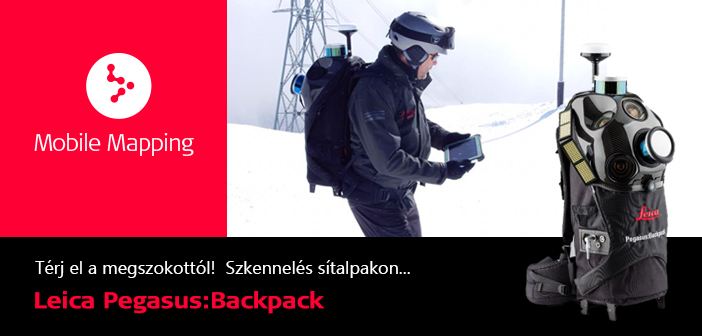 Leica Pegasus:Backpack – A legkorszerűbb módszer térinformációsadatgyűjtéshez